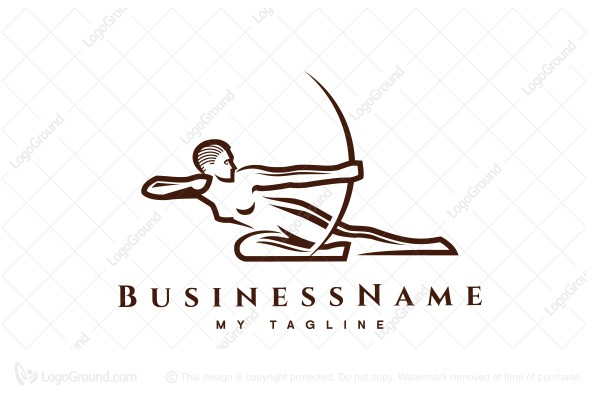 Logo for sale: Female Archer Logo