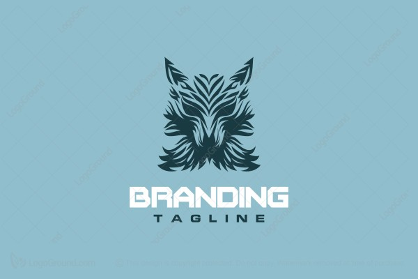Logo for sale: Wolf Logo