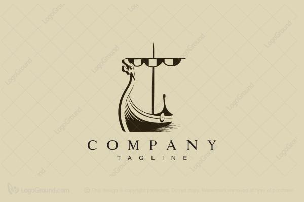 viking ship logo rh logoground com Viking Ship Graphic Viking Ship Clip Art