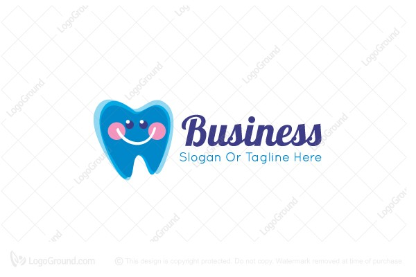 Logo for sale: Friendly Tooth Logo