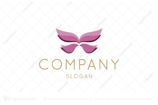 Logo for sale: Creative Abstract Butterfly Logo