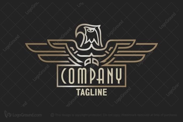 Art Deco Eagle Logo