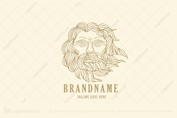 Logo for sale: Old Man Logo