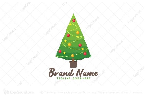 Eco Christmas Tree Logo