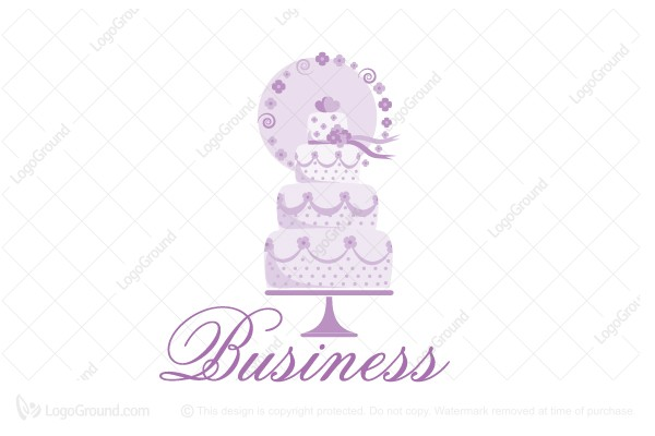 Logo for sale: Wedding Cake Logo