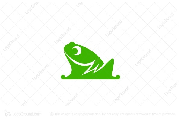 Logo for sale: Electric Frog Logo