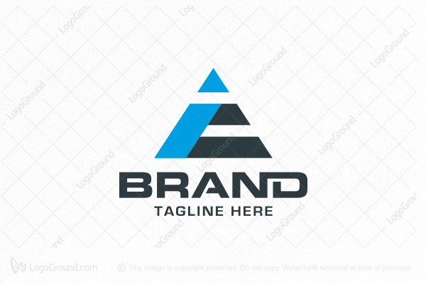 Logo for sale: Triangle E Logo
