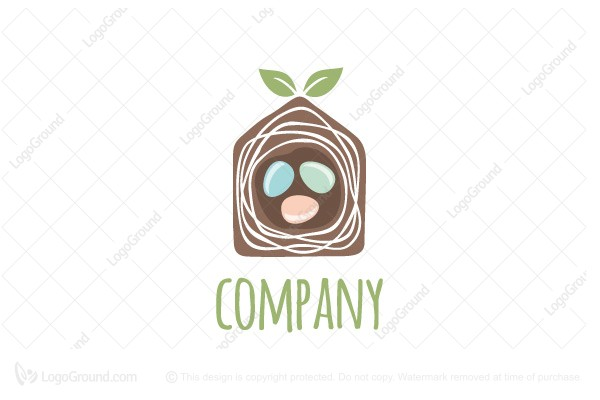 Logo for sale: Home Nest Logo