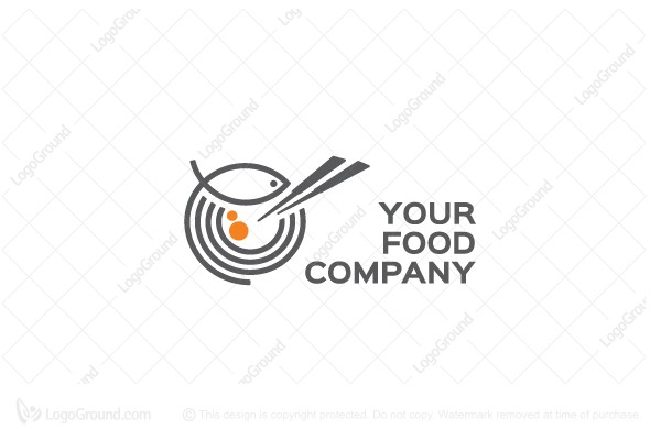 Logo for sale: Jazzy Sushi Place Logo