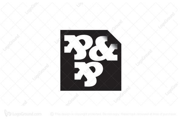 Monogram Letter P P Logo
