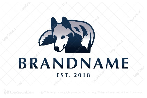 Logo for sale: Grey Wolf Logo