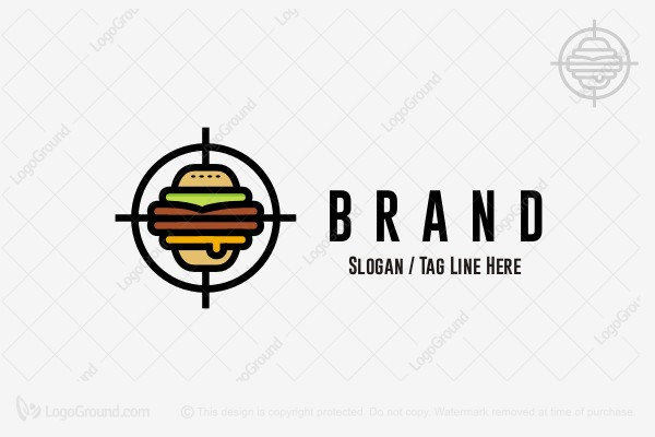 Logo for sale: Perfect Burger Logo