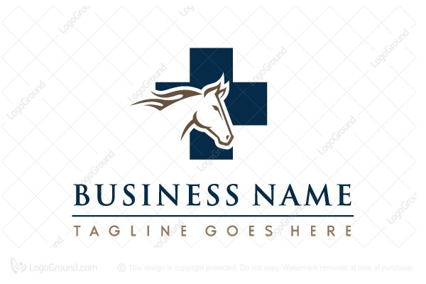 Logo for sale: Equestrian Veterinary Logo