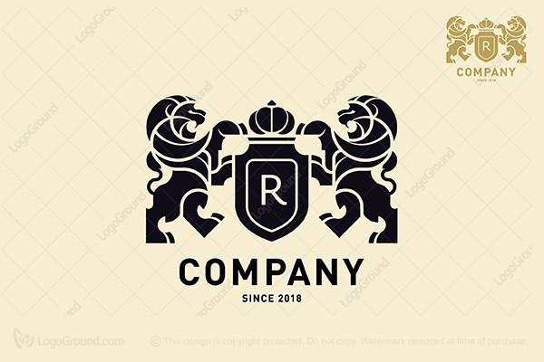 logo for sale royal lion logo