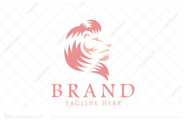 Logo for sale: Strong Lion Logo