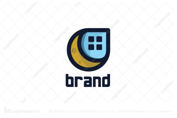 Logo for sale: Moon House Logo