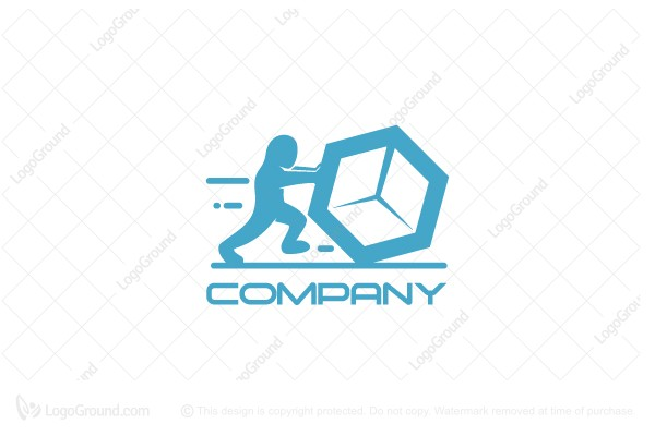 Logo for sale: Box Move Logo