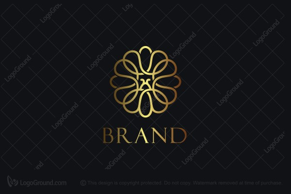 Logo for sale: Flower Bee Logo
