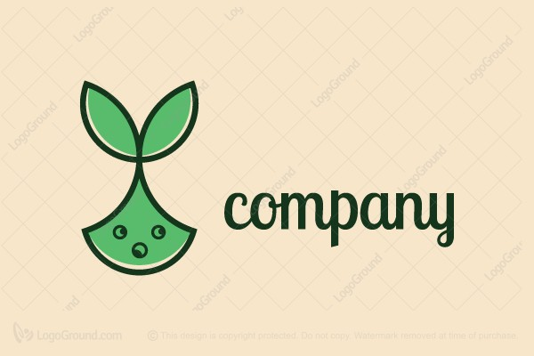 Logo for sale: Bunny Seed Logo