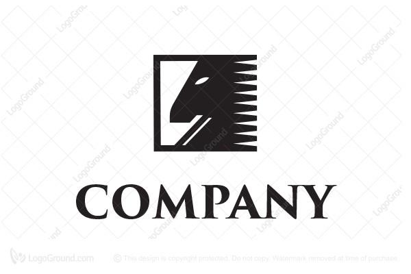 Horse Symbol Logo