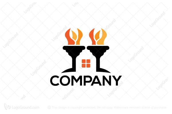 Logo for sale: Torch House Logo
