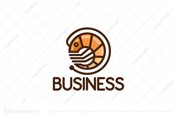 Logo for sale: Shrimpy Logo