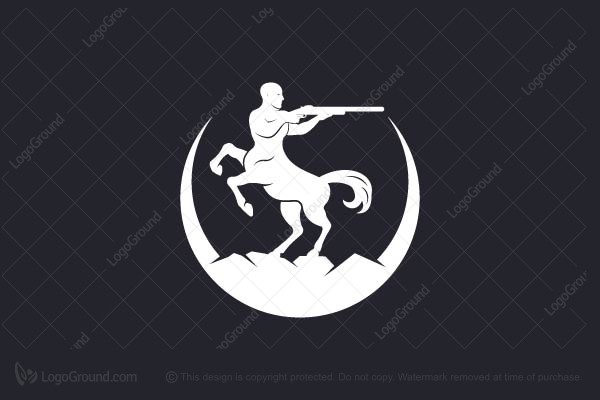 Logo for sale: Centaur Guns Logo