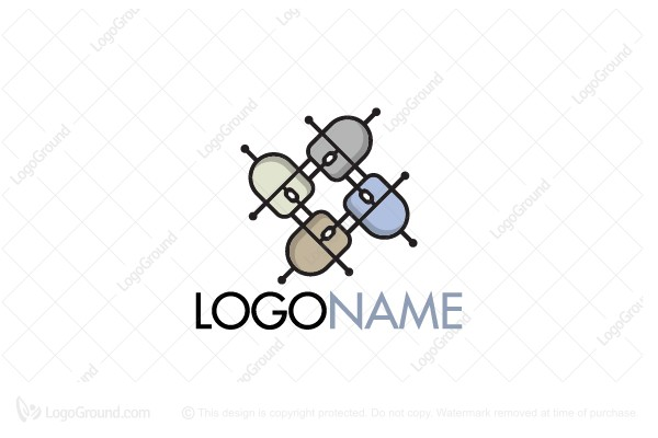 Logo for sale: Click Link Logo