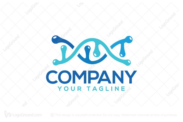 Logo for sale: Wet Gene Logo