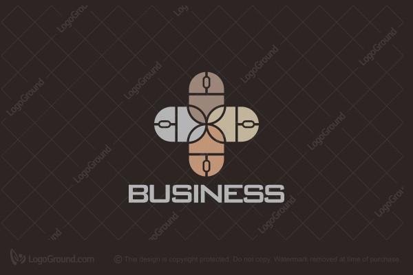 Computer Mouse Logo