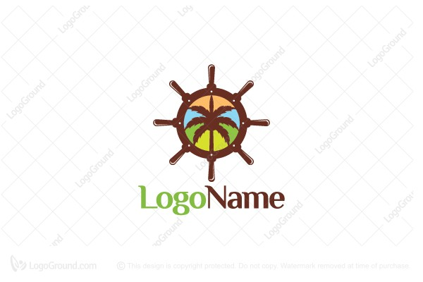 Logo for sale: Caribbean Cruise Logo