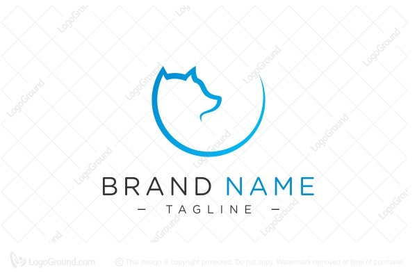 Logo for sale: Circle Fox Logo