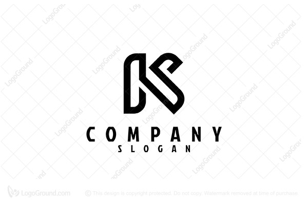 Ks Monogram Logo