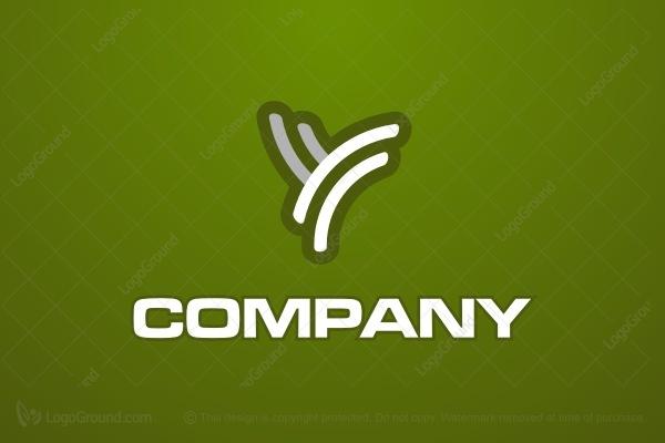 Funky Letter Y Logo Y Logo