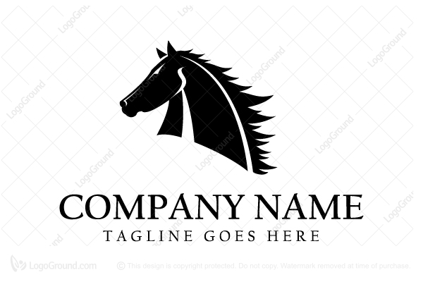 Logo for sale: Black Stallion Logo