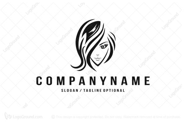 Salon Hairdresser Logo Or Brand