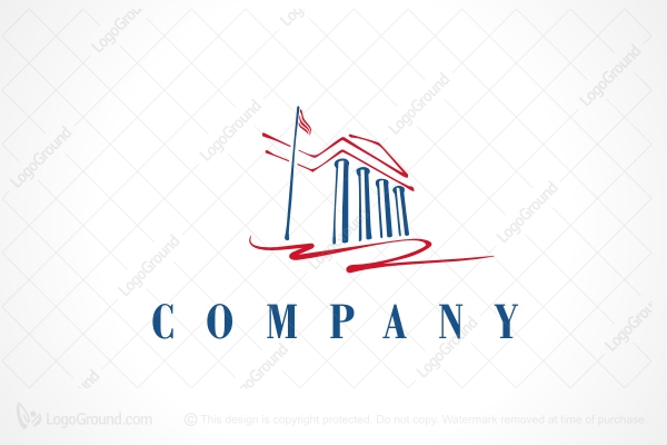 Logo for sale: Courthouse Logo