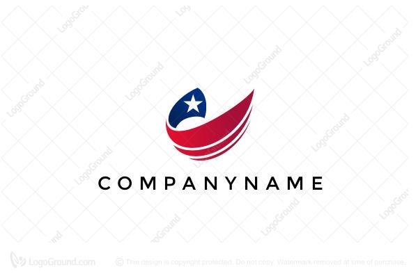 Us Flag Logo