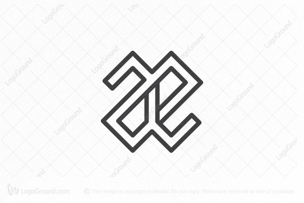 Logo for sale: Ae Monogram Logo