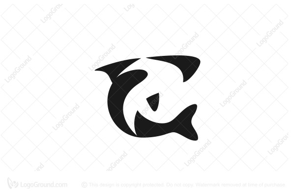 Exclusive Logo 107260, Simple Shark Logo