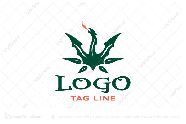 Logo for sale: Magic Dragon Logo