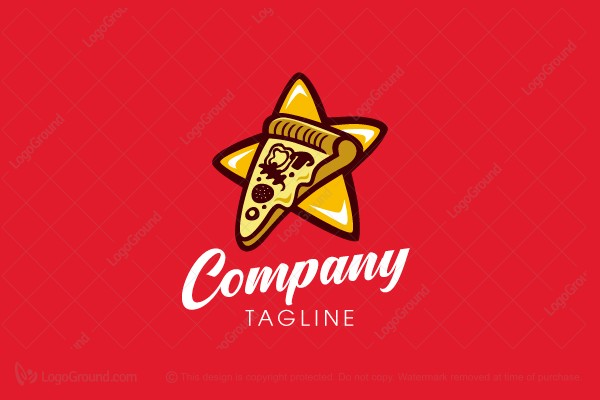 Logo for sale: Pizza Star Logo
