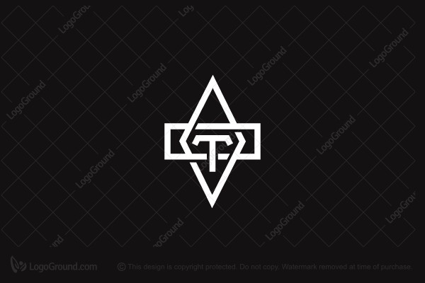 a5750ba41f1626 Logo for sale: Abstract Letter T Logo
