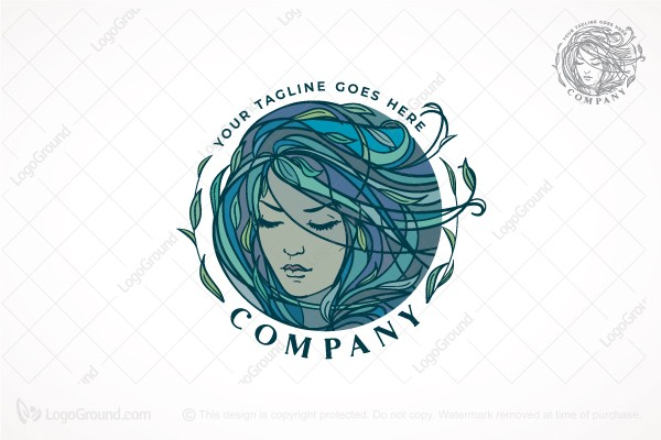 Logo for sale: Mermaid Logo