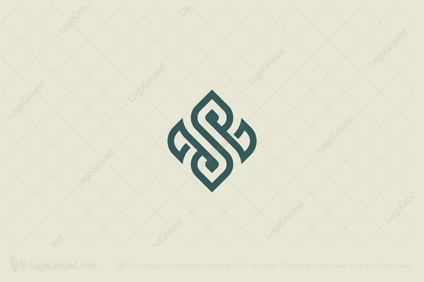 Logo for sale: Tribal S Letter Logo