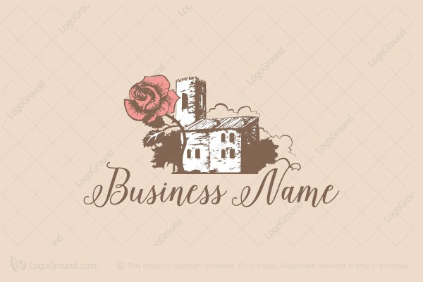 Logo for sale: Rose Castle Logo