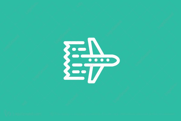 Logo for sale: Air Ticket Logo