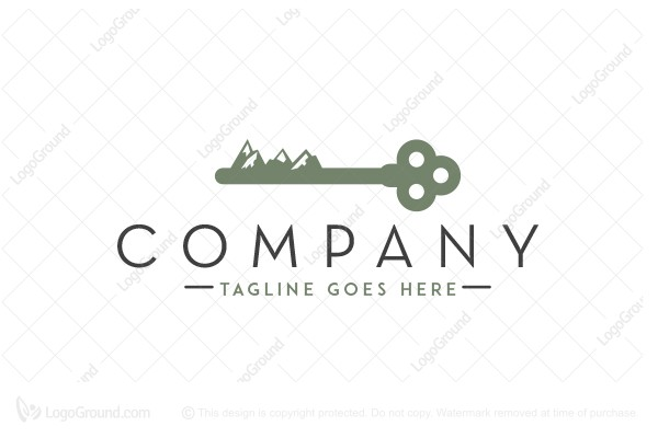 Logo for sale: Key To The Forest Logo