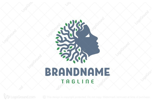 Logo for sale: Face Of Nature Logo