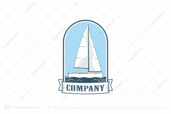 Logo for sale: Adventure Boat Logo